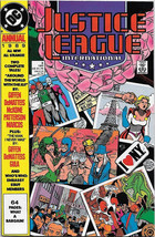 Justice League International Comic Book Annual #3 DC 1989 VFN/NEAR MINT ... - $3.50