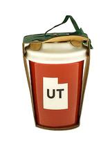 Starbucks Utah UT Local Ornament USA State Red Cup 2016 Mermaid Ceramic ... - $33.66