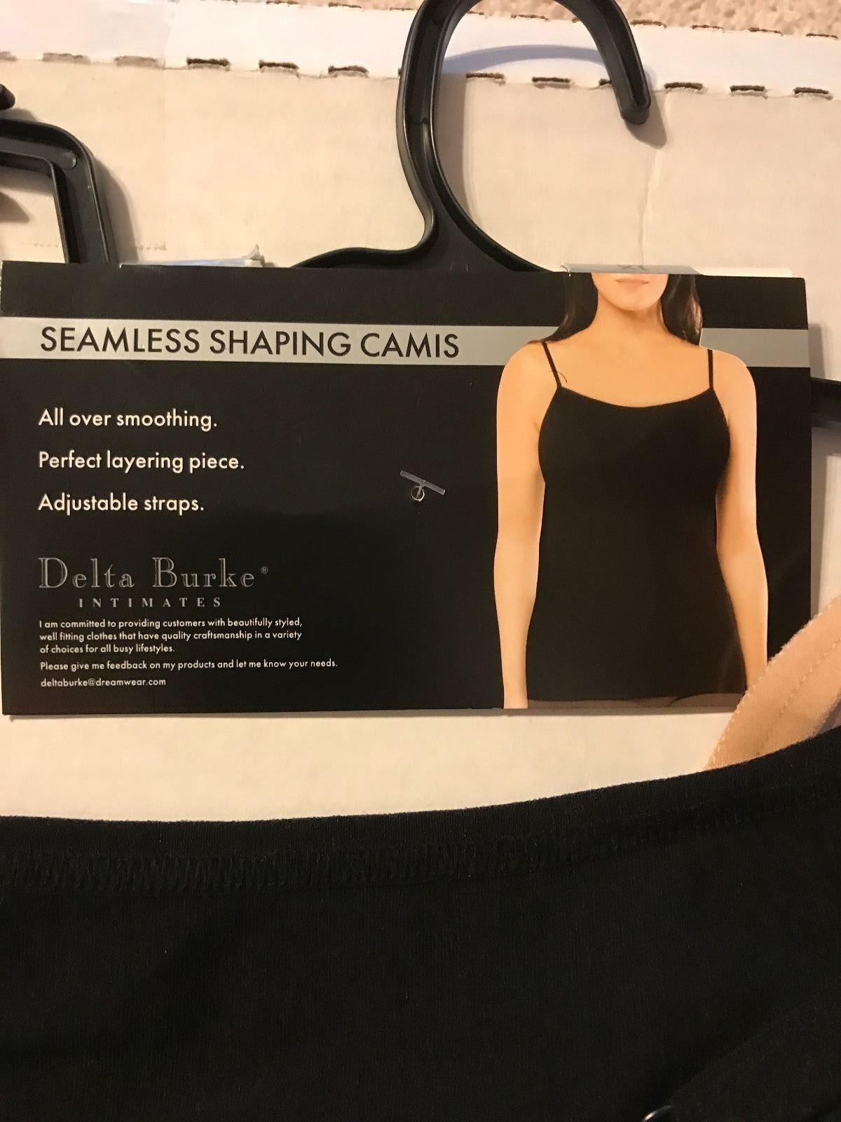 fb166f0177 Delta Burke Seamless Cami Adjustable Straps and 50 similar items