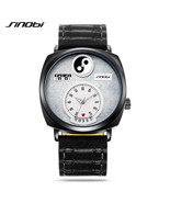 SINOBI® Tai Chi Watch For Men Women Unique Dial Hour Calendar Chinese Ph... - $45.68