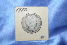 1902 Barber Half Dollar 90% Silver! (5311704) - $20.00