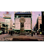 2 1950'S GLASS 35MM SLIDES -TIMES SQUARE NYC-WITHOUT BOTTOM BILLBOARD-SC... - $29.99