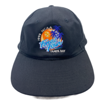 Vintage 1999 NCAA Final Four Tampa Bay Wead Shot Black Hat Snapback Basketball - $19.76