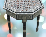 Egyptian Handmade chess Wood table Board Inlaid Mother of Pearl wooden chess - £178.13 GBP
