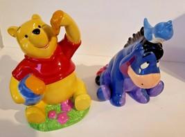 Disney Winnie The Pooh Enesco and Kreisler Eeyore . Penny Bank image 1