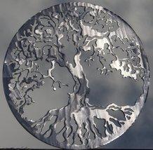 Tree of Life Metal Wall Art Polished Silver - $14.00+