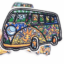 5Pcs set Bus Size:5.8x6.7cm Embroidered Patch for DIY Clothing Iron on S... - $11.30