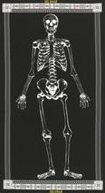 Timeless Glow in the Dark Mr. Skeleton on Black... - $8.27