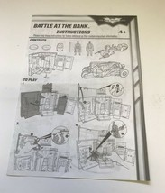Batman The Dark Knight Rises Battle at the Bank - Instruction Manual Only - $3.99