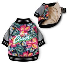 Fancy Dog Coat Hawaii Aloha Style Pet Clothes Cotton Padded Warm Pet Jac... - $17.70+
