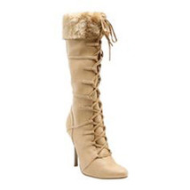 **STORE CLOSING!  -->VIKING BOOTS Size 5 Nordic Norse Goddess Heels Sexy... - $15.34