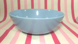 Beautiful Vintage Homer Laughlin Skytone Blue Nappy Serving Bowl Schreck... - $16.00