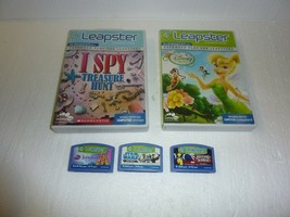 Leap Frog Leapster Learning Games LeapFrog Educational Lot of 5 - $9.74