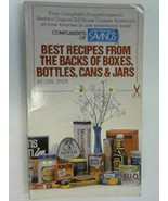 Best Recipes From the Backs of Boxes Bot Dyer, Ceil - $1.98