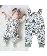 new born baby clothes Infant Baby Girl Boy Sleeveless Romper Jumpsuit On... - $8.69