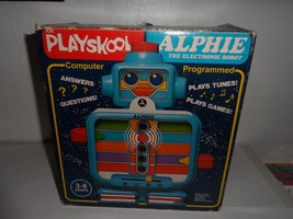 1978 Playschool Alphie The Electronic Robot In Box Activity Set FOR PART... - $15.67