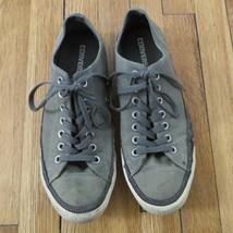 Converse All Star gray distress sneakers unisex men's size 9 / women's size 11 - $19.98