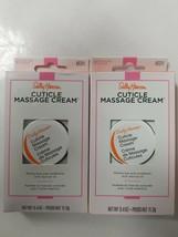2 Sally Hansen Cuticle Massage Cream,  CUTICLE CARE 0.4 Ounce 45311 - $9.48