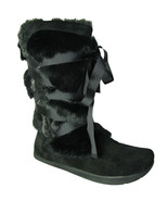 Womens Kalso Earth Pike Boots - Black & Brown Suede [100376WSDE] - $114.99