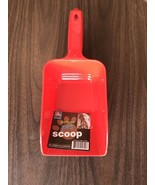 Deluxe Pet Food Scoop Solid Red 11 1/4 inches length  4 1/2 inch wide - $5.18
