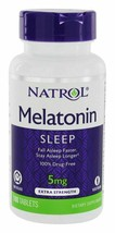 Natrol Melatonin Time Release Tablets, 5mg, 100 Count - $12.82