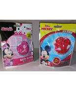 2 Disney Junior Mickey Minnie Mouse Scented Kids Bath Bomb New Nontoxic - $7.13