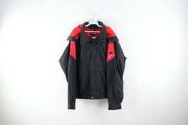 Vintage 90s The North Face Extreme Mens XL Goretex Spell Out Hooded Rain Jacket - $138.55