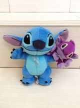 Disney Stitch And Friend Finger Puppet Plush Doll. Pretty and rare item - $25.00