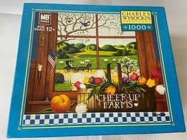 Charles Wysocki 1000 Piece Jigsaw Puzzle Game A Peach of a Day Tulip - $21.29