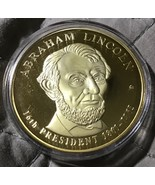 American Mint Abraham Lincoln  Commemorative Coin Presidential Dollar Tr... - $9.99