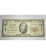 1929 $10.00 National Bank Note Farmer City, IL Low Serial Number VG RARE... - $327.81