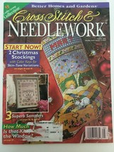 Better Homes and Gardens Cross Stitch & Needlecraft Aug 1997 Stockings S... - $4.00