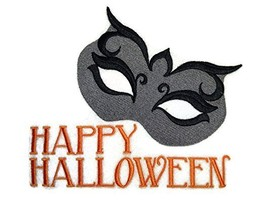 Custom And Unique Happy Halloween [ Mysterious Halloween ] Embroidered I... - $12.86