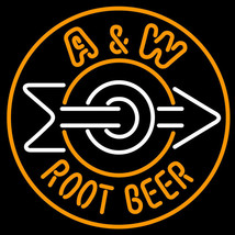 "Brand New A and W Root enjoy  Beer Bar Pub Neon Light Sign 16""x16""[High Quality] - $129.00"