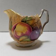 Aynsley Orchard Gold Mini Sugar Bowl and Creamer Set image 6