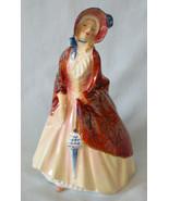 """Royal Doulton Pretty Ladies Figurine HN1988 Paisley Shawl 6 1/4"""" - $40.48"""
