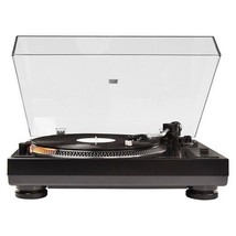 Crosley C200A-BK Direct Drive Turntable Record Player Black NEW - $249.95