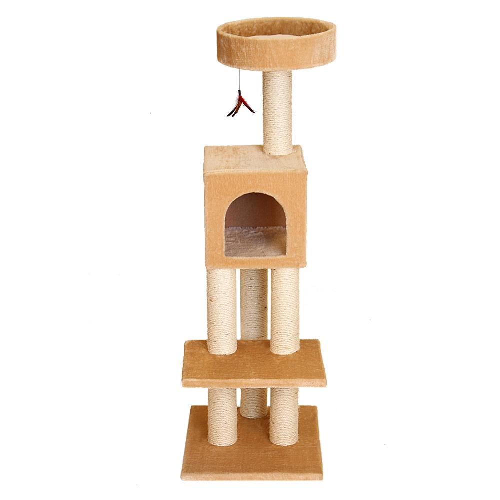 Na48551 a kitty fun tower w hideout f