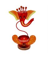 Home/Office..Religious Tea Light Candle Holder Stand, Ganesha Shape T-Li... - $38.99