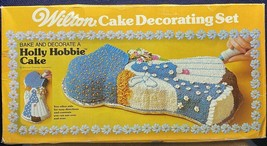Vintage 1976 Wilton Holly Hobbie Cake Pan IOB W/Instructions 2105-786 - $9.89