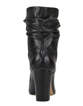 Nine West NEW Black Slouchy-Leather Pointed-Toe Booties Shoes Size: 10 - $43.81