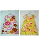 2 Gymboree Boutique Petite Soeur Summer Dresses 2T  Flowers Girls 100% C... - $15.47