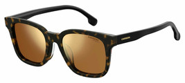 Carrera Men's Squared Sunglasses CA 185/F/S 086/K1 Havana Brown Gold Fla... - $64.30