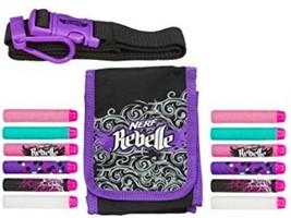 Nerf Rebelle Dart Diva Bag and Belt - Includes 10 Darts And Adjustable Belt NEW - $12.94