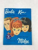 Vintage 1962 Barbie Ken Fashion Booklet Teen-Age Model Newsletters Mattel  - $9.49