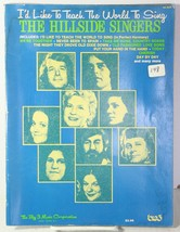 Id Like to Teach The World To Sing Sheet Music - The Hillside Singers So... - $28.04