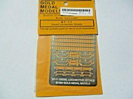 Gold Medal Models # 87-11 Diesel Locomotive Detailing Set HO-Scale image 3