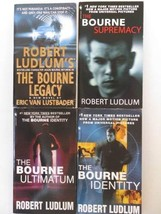 Robert Ludlum 4 Book Set - Bourne Series - The Bourne Legacy, The Bourne... - $19.95