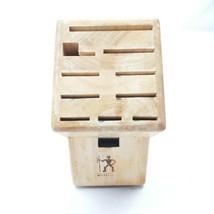 J.A. Henckels International 11-Slot Hardwood Knife Block - $14.49