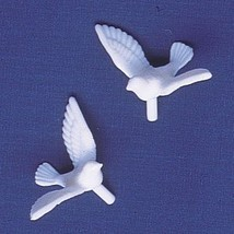 Oasis Supply 12 Count Dove Cake Decorating Figures - $5.40